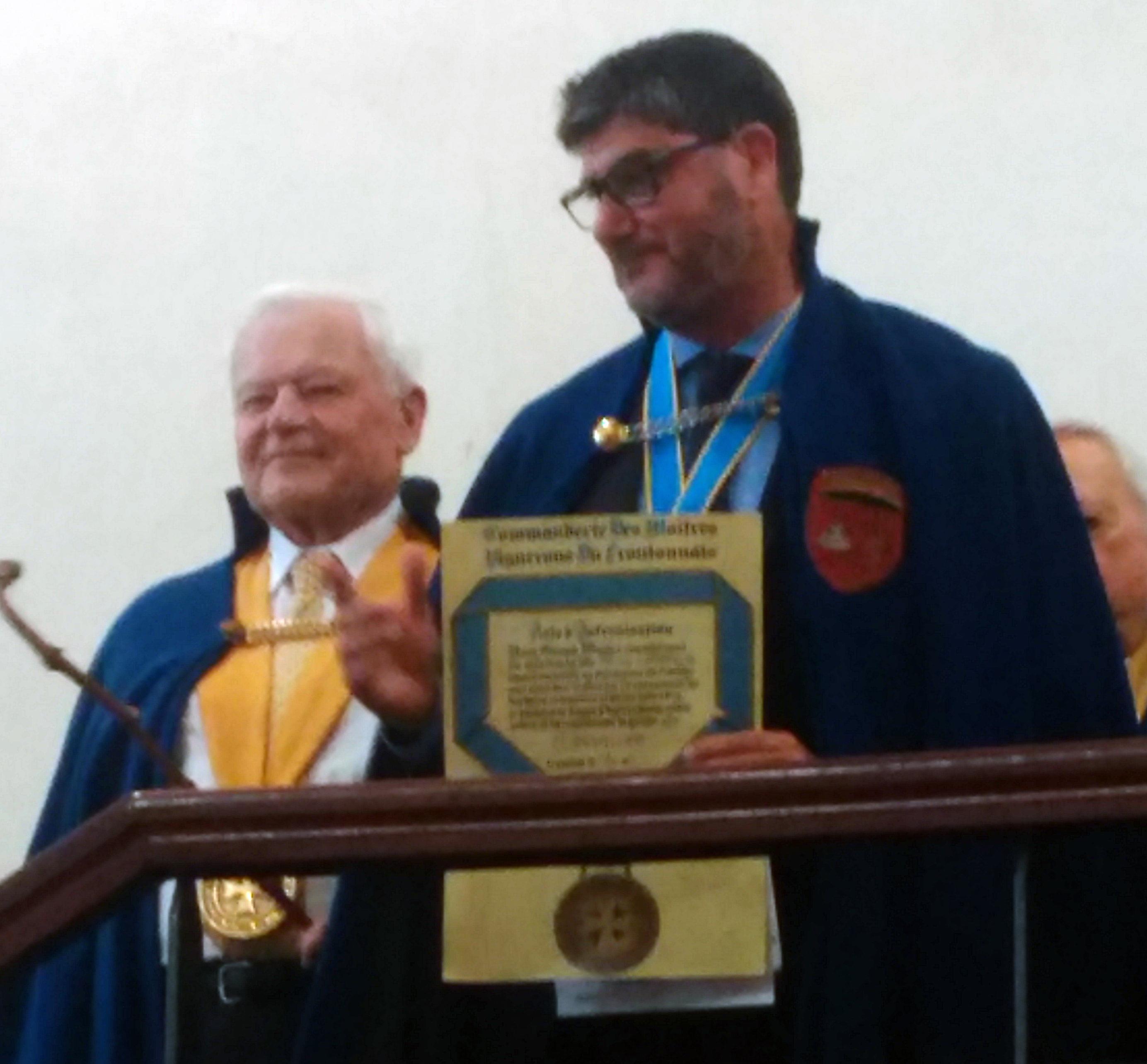 Patrick Lafforgue intronisé par la Commanderie des Maîtres vignerons du Frontonnais